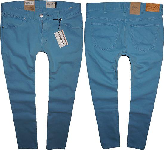 LARSTON WRANGLER VINTAGE BLUE jeans W34 L34
