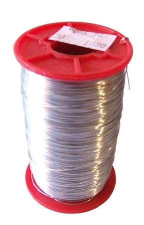 ПРОВОЛОКА ДЛЯ ШЛАНГОВ из нержавеющей стали 0,5 мм 500g шланга улей ульи