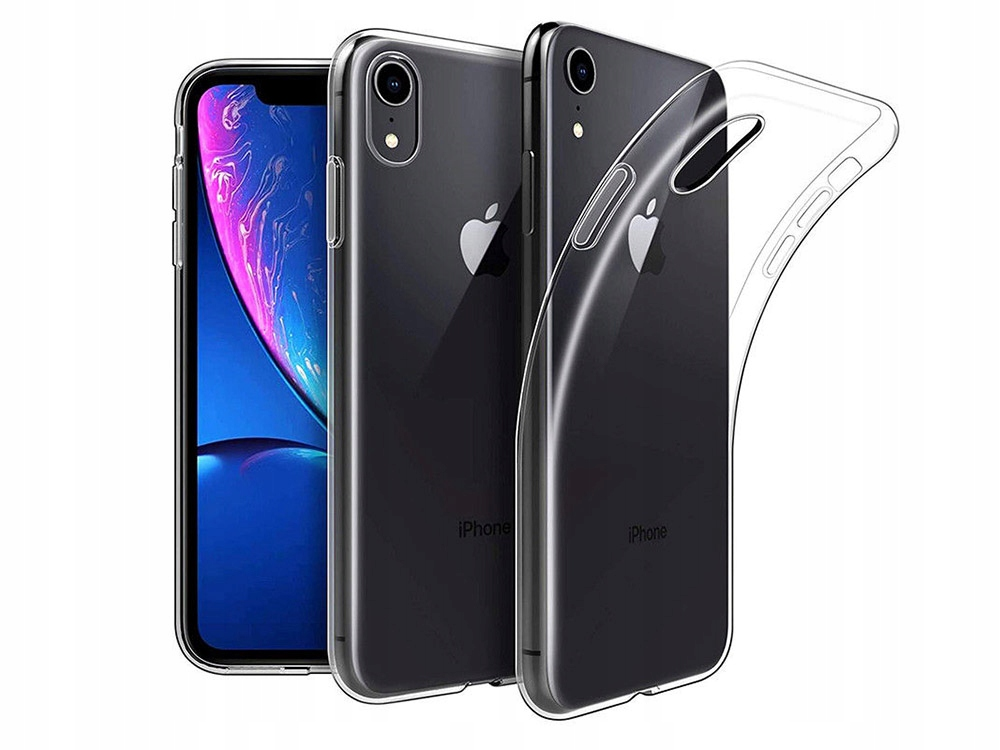 Etui Silikonowe UltraClear / Apple iPhone Xr