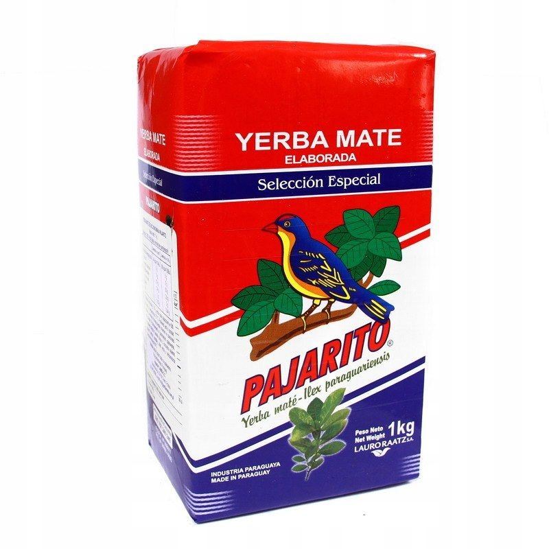 Купить Yerba Mate Pajarito Seleccion ОСОБЕННОЙ 1КГ на Eurozakup - цены и фото - доставка из Польши и стран Европы в Украину.