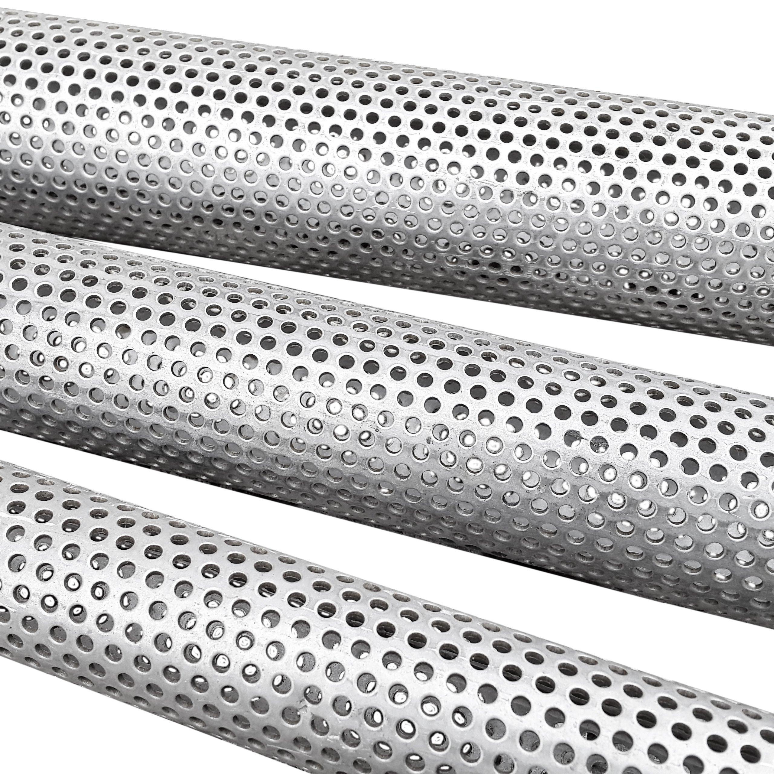 Перфорированная трубка восстановить ваш глушитель 40 мм 0,5 м