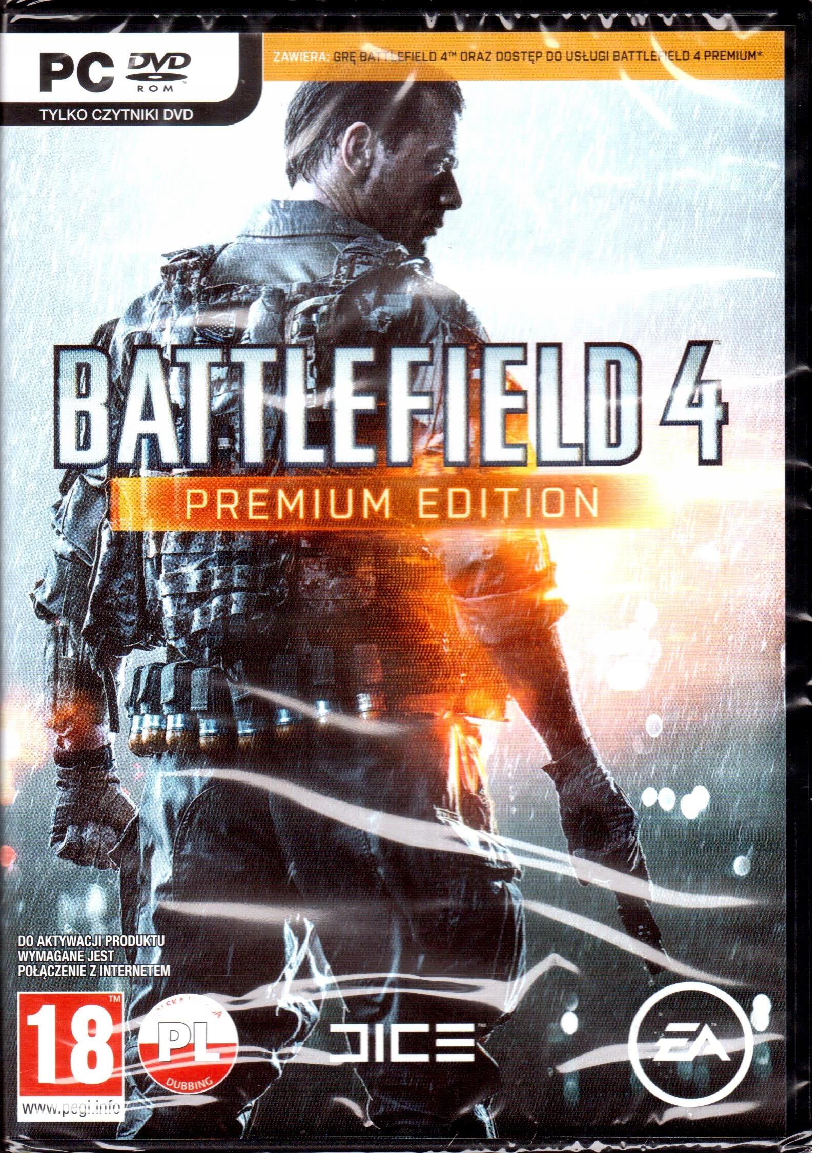 Battlefield 4 Premium Edition Pc Nowa W Folii Stan Nowy 7787963263 Allegro Pl