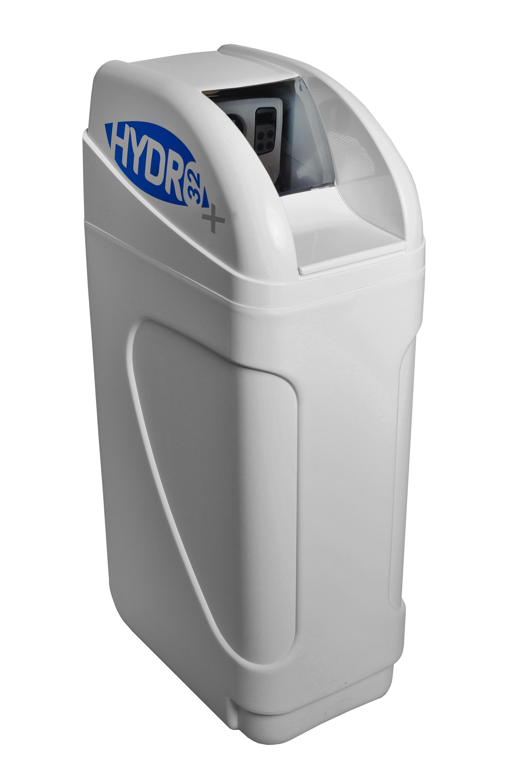 Podłączyć zmiękczacz wody do tyłu