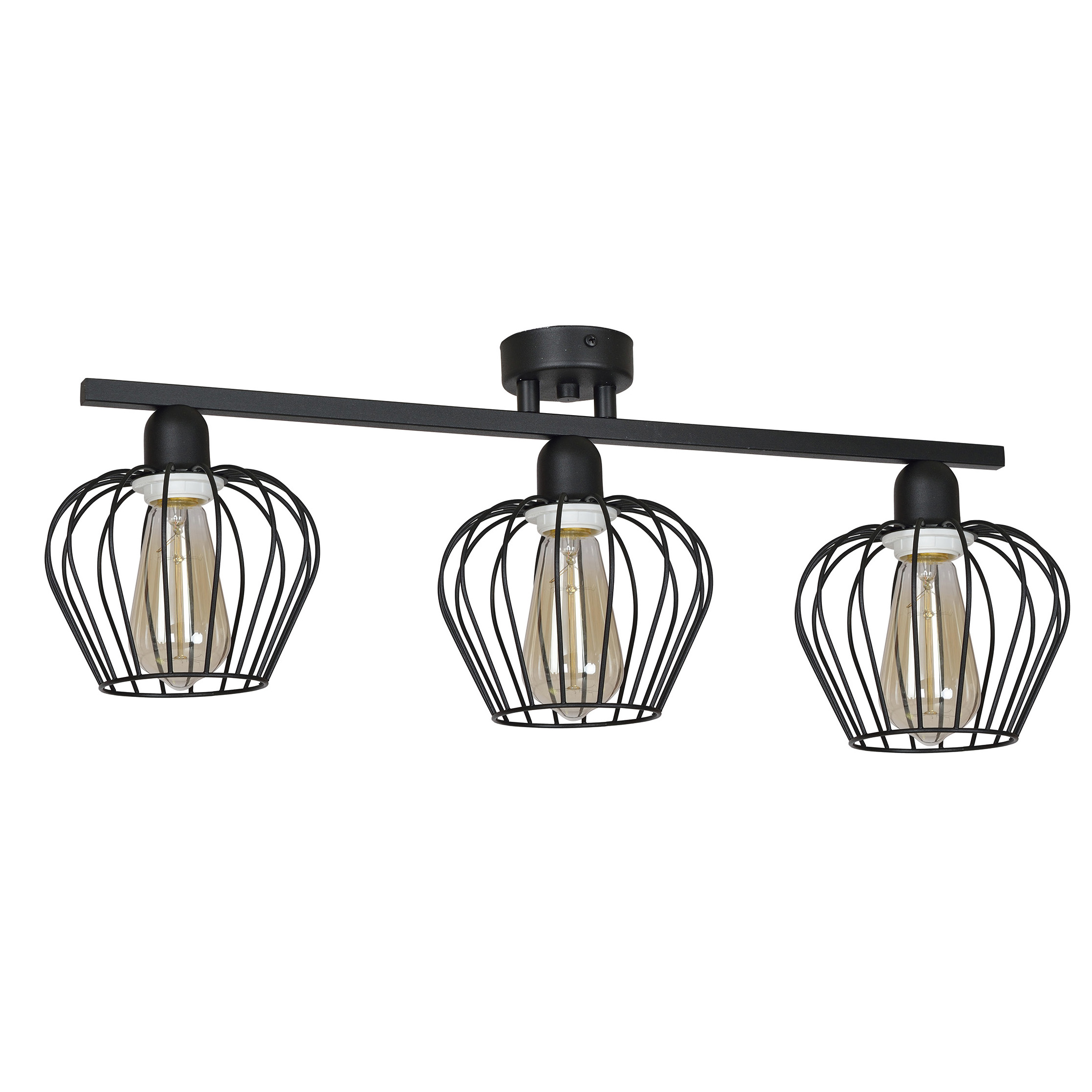 Moderné ZÁVESNÉ RETRO SVETLO stropné podkrovné LED