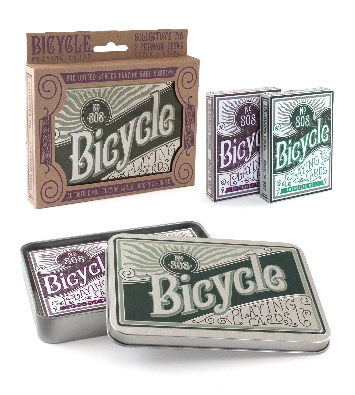 POŽIČOVŇA hracie karty RETRO POKER Darček Autocycle