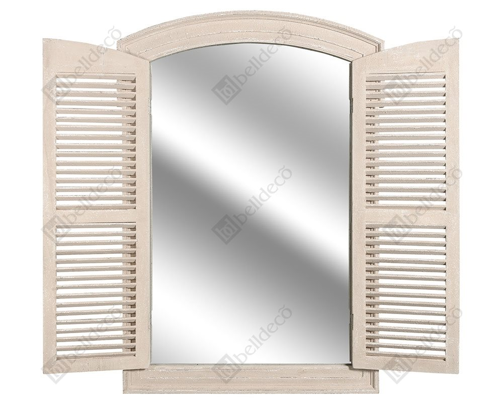 Vintage zrkadlo s okiennicą Belldeco