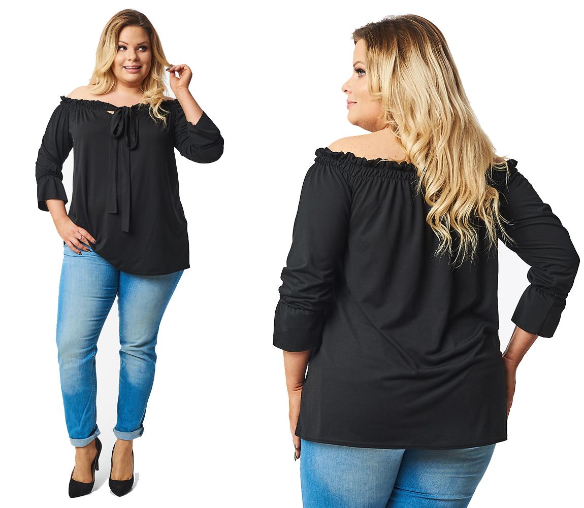 Cavaricci Plus Size bluzka boho XXL/XXXL B-16