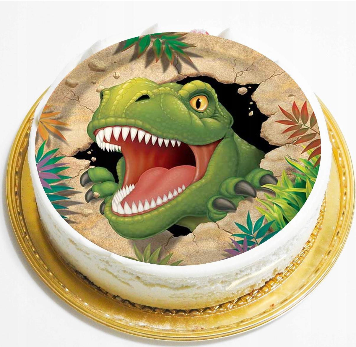 делает динозавр картинка на торт круглая можете запросить