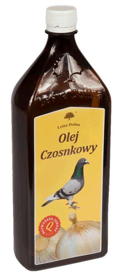 LEŚNA DOLINA Olej czosnkowy 1l