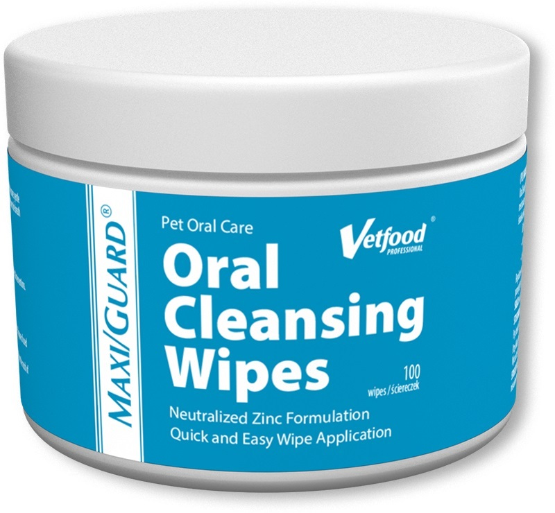 VETFOOD Макси /GUARD Oral Cleansing салфетки 100 штук