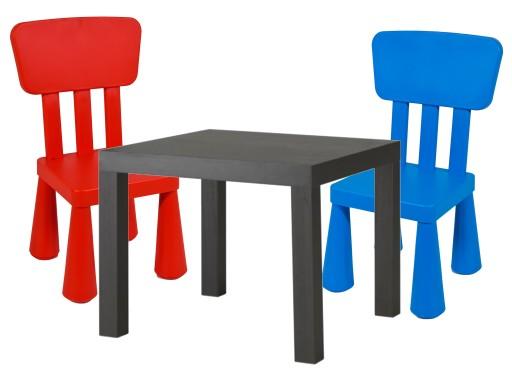 Ikea Stolik Dla Dziecka Lack 2 Krzesełka Zestaw