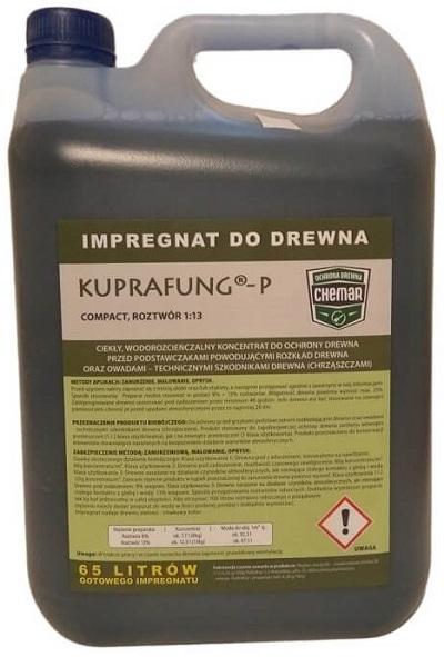 KUPRAFUNG-P древесная пропитка зеленой связи 65L