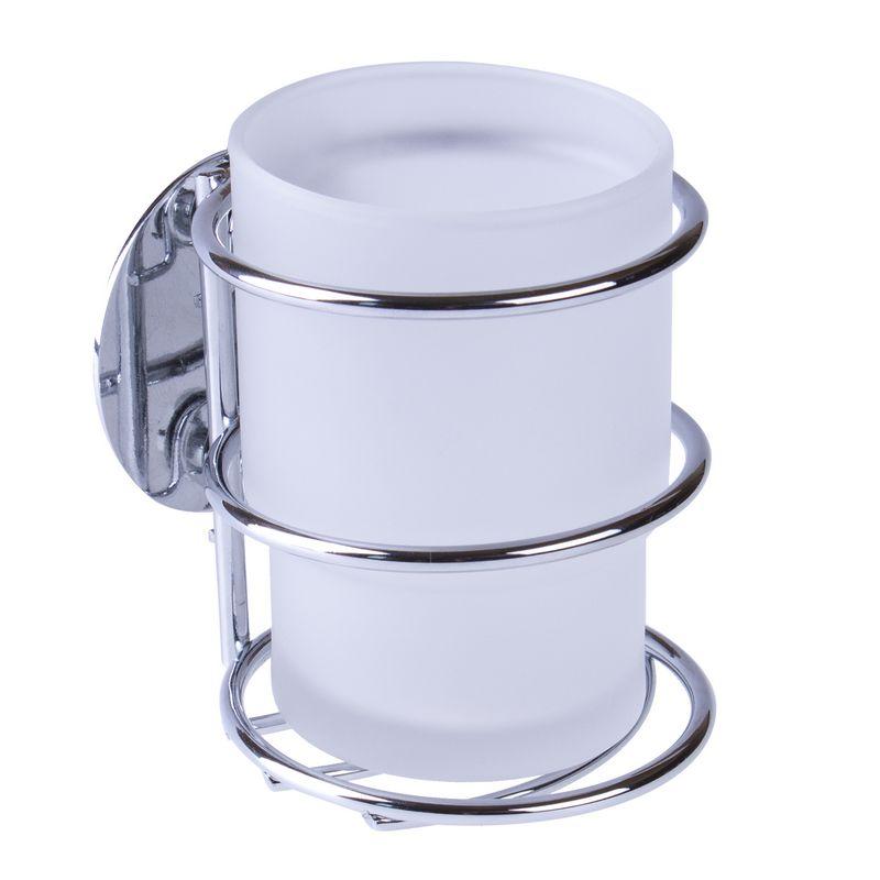 Kúpeľňa hrnček pre prísavku - 3m chrómová páska