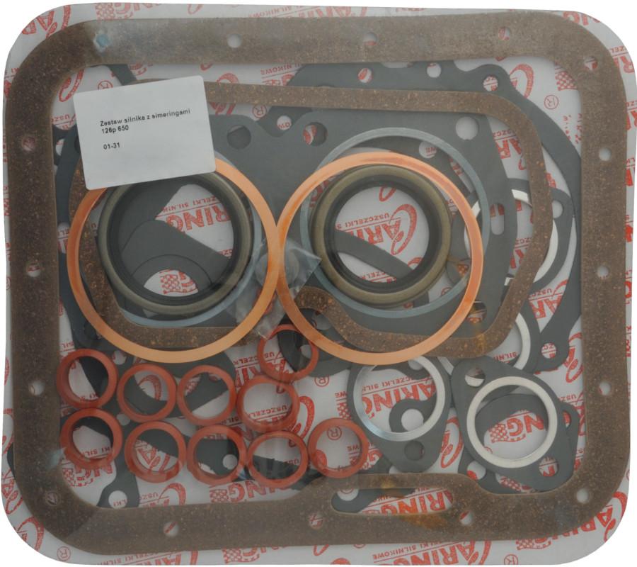 комплект прокладок прокладки двигателя fiat f 126p 650