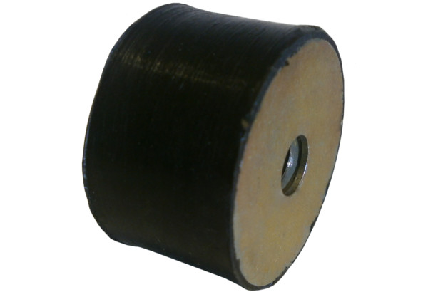 Vankúš Cylinder Gumové kompaktory M10 50x20 mm