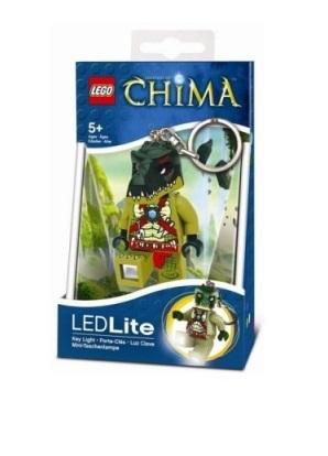 Lego Chima Keychain LED CRAGGER LGL KE36 CROCODILE