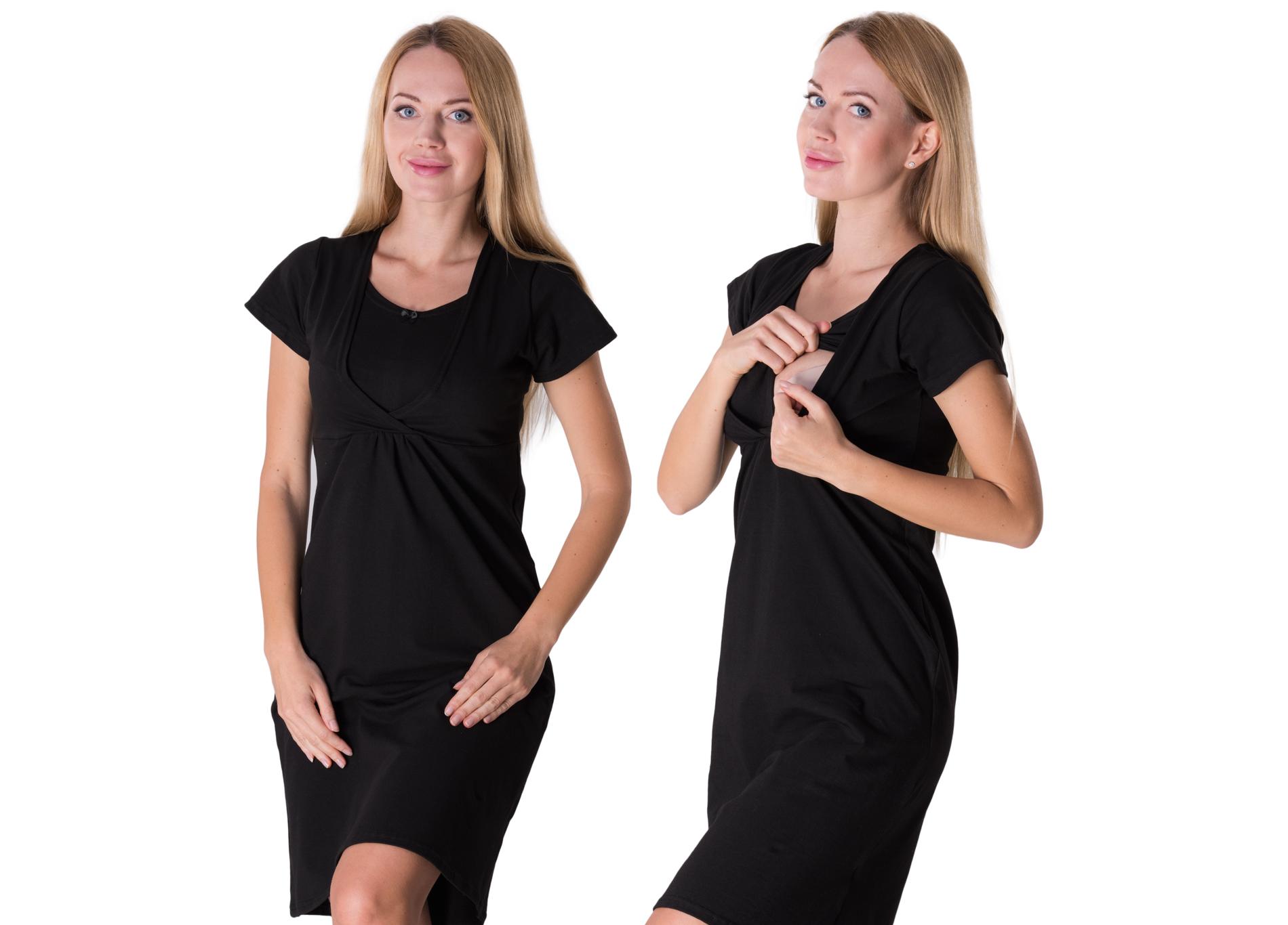 Koszula nocna ciążowa do karmienia XXL
