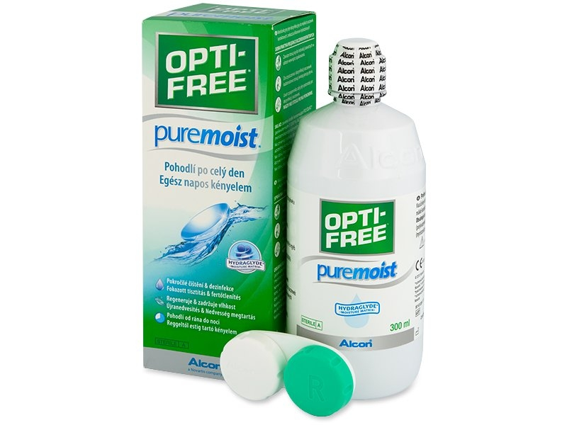 Opti Free Pure Moist / PureMoist 300 мл - АКЦИЯ