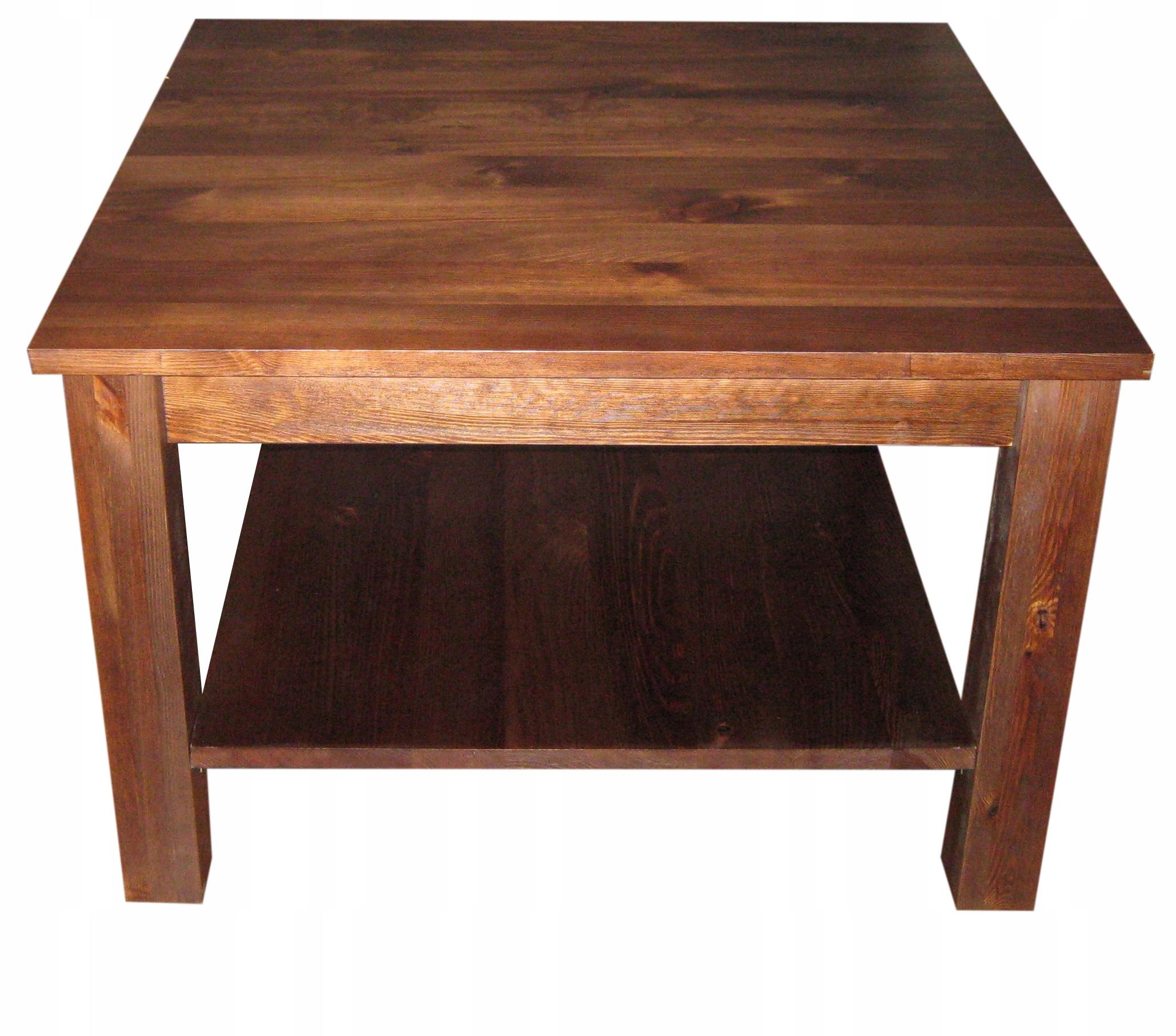 Stół drewniany sosnowy 90x90 ELEGANCKI NOWOCZESNY Kolekcja ..