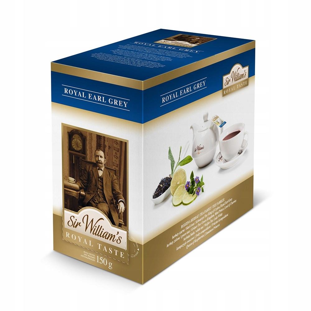 Čaj Pane Williams Royal Chuť Earl Grey 50