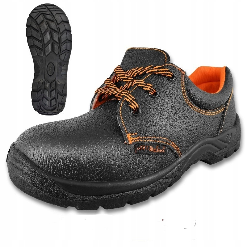 SHOES LEATHER WORK SHOES WITH TOE CAP s1 44