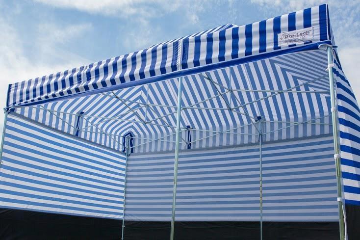 Namiot Handlowy Pawilon ekspresowy 2.5x2.5 MOCNY 7540372653