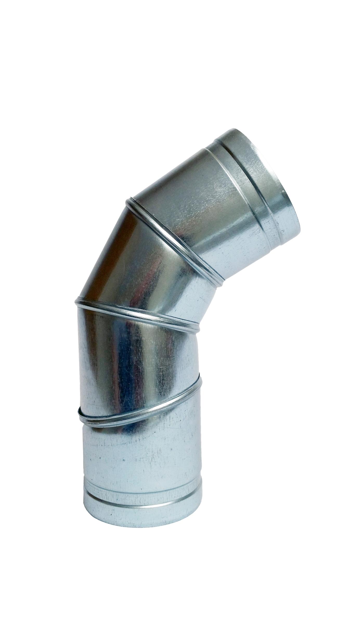 Nastaviteľné koleno 0-90 stupňov 150mm Scratch Spiro Snake