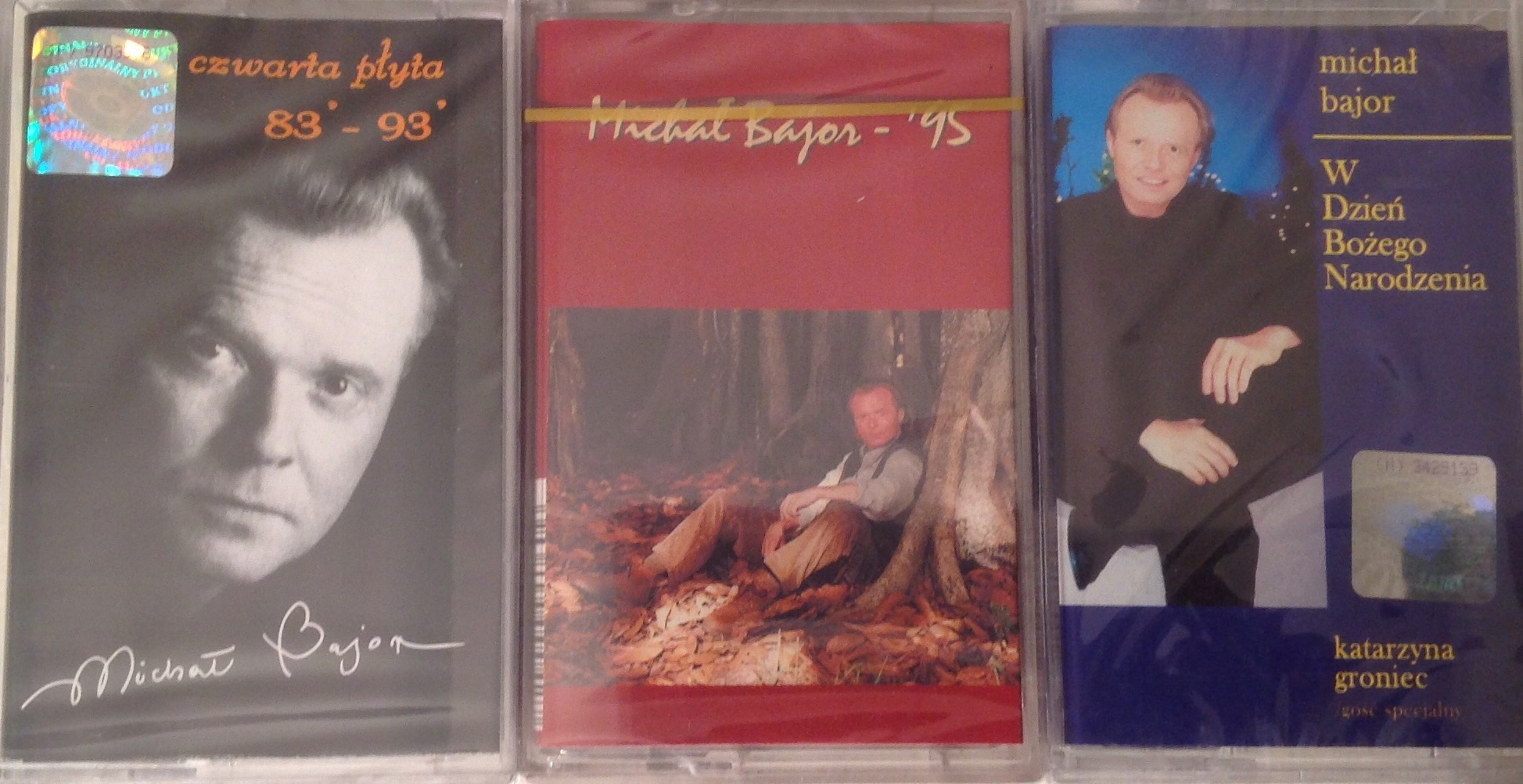 Item MICHAEL BAJOR * 3 AUDIO CASSETTE TAPES * NEW!!! * OPPORTUNITY!!