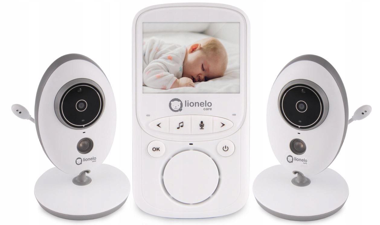 Niania Elektroniczna Lionelo Babyline 5.1 2 Kamera