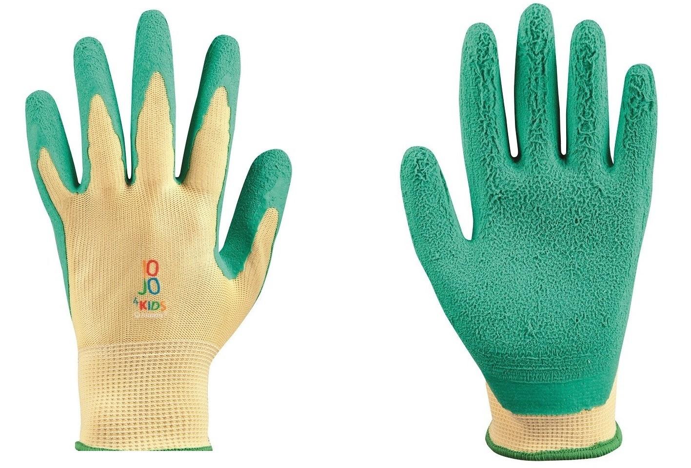 RĘKAWICE rękawiczki robocze dziecięce ochronn 8 11