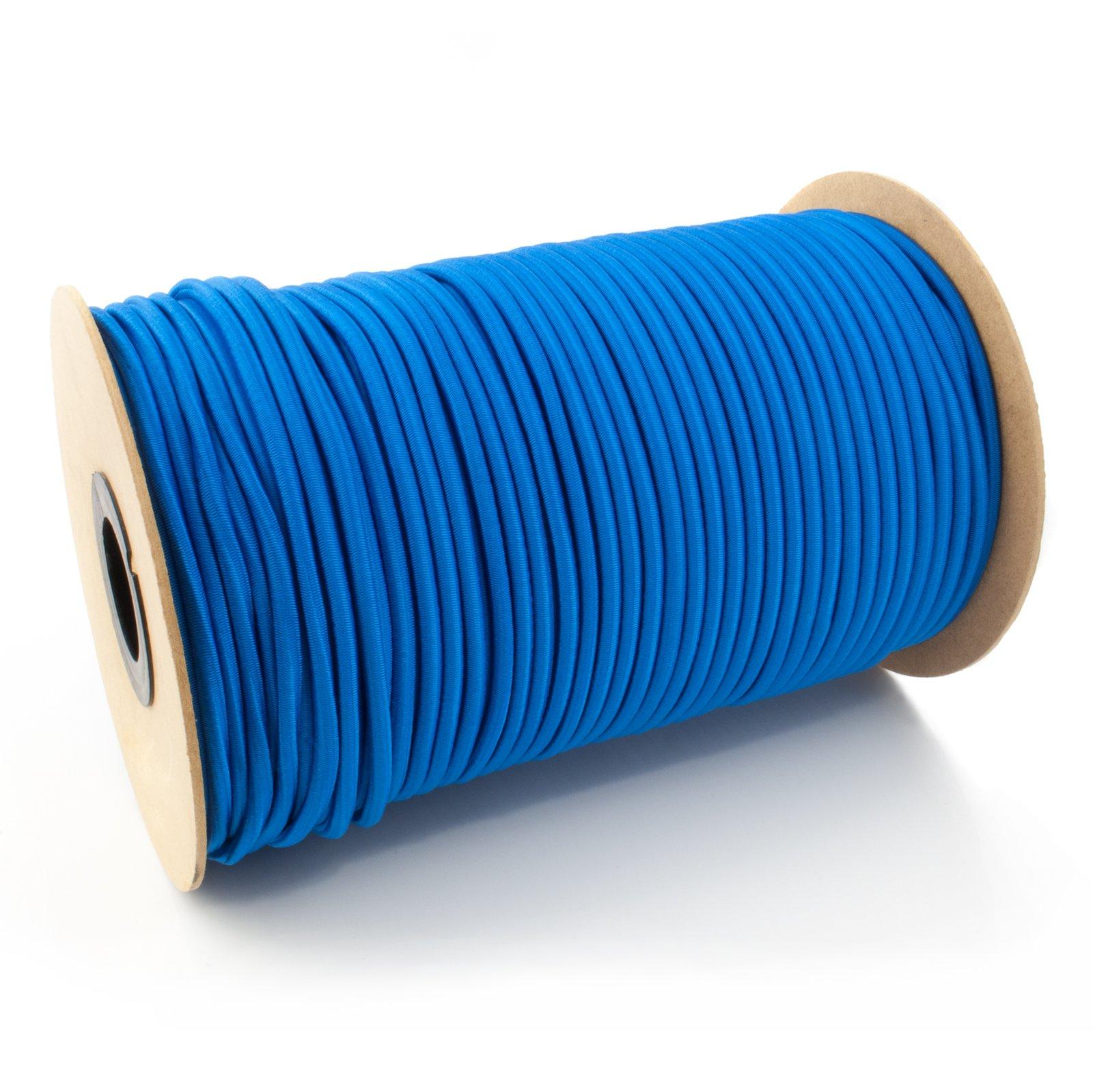 Lano elastické ekspandor modrá 6 mm 100 m