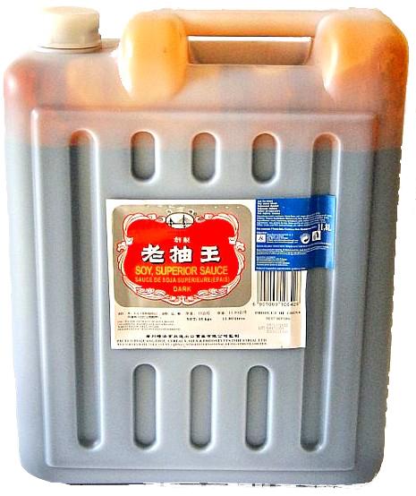 Sójová omáčka Tmavé HaiyinBridge 15 kg potravín