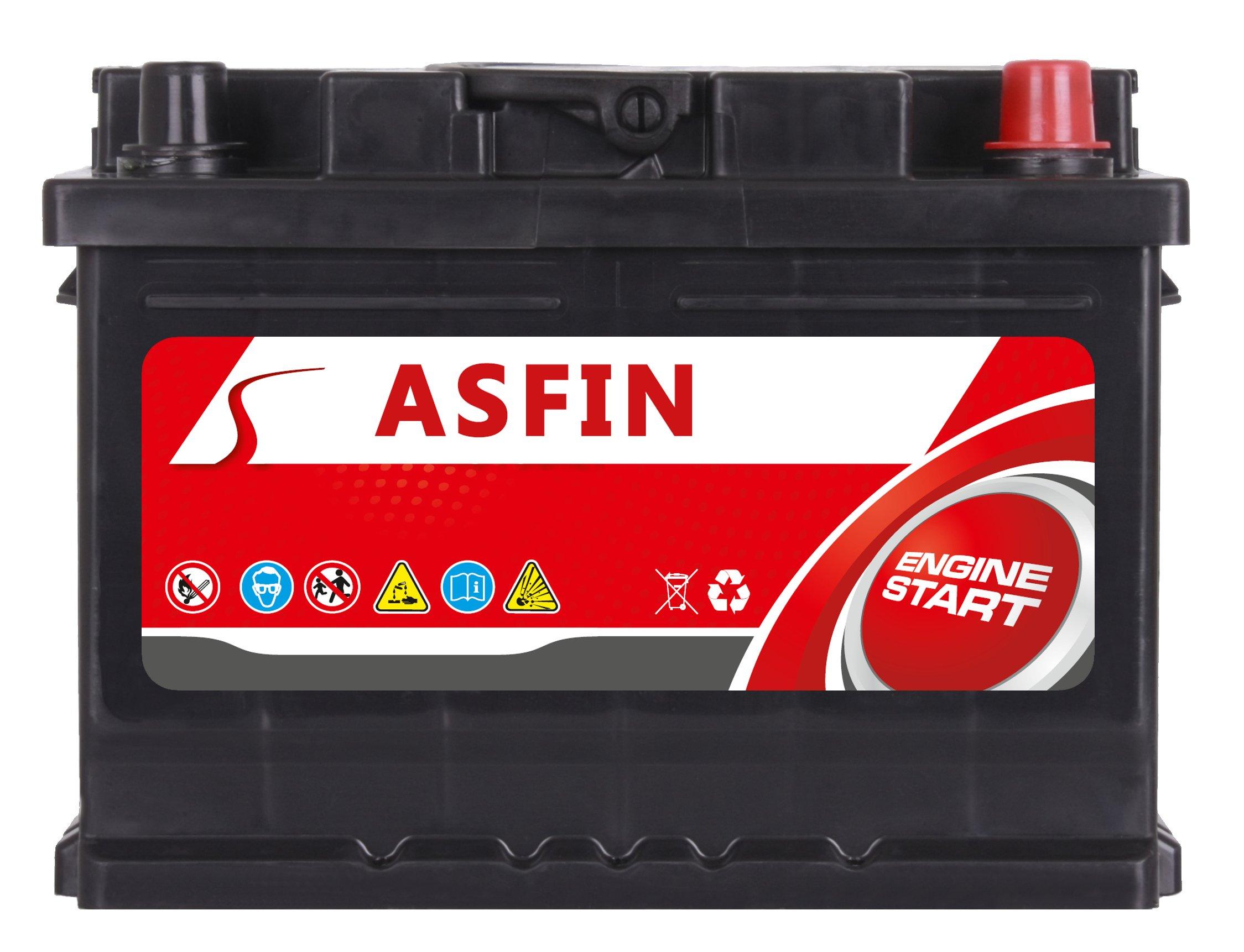 аккумулятор asfin 12v 60ah 570a en