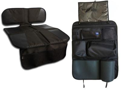 Podložky pod autosedačky + organizátor sedadla