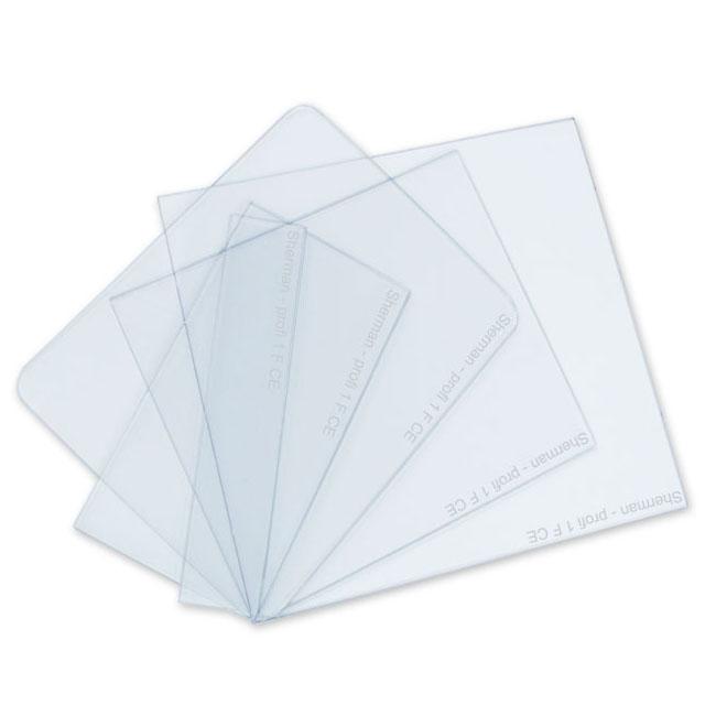 Rýchly polykarbonátový filter PVC pre masku 99x123