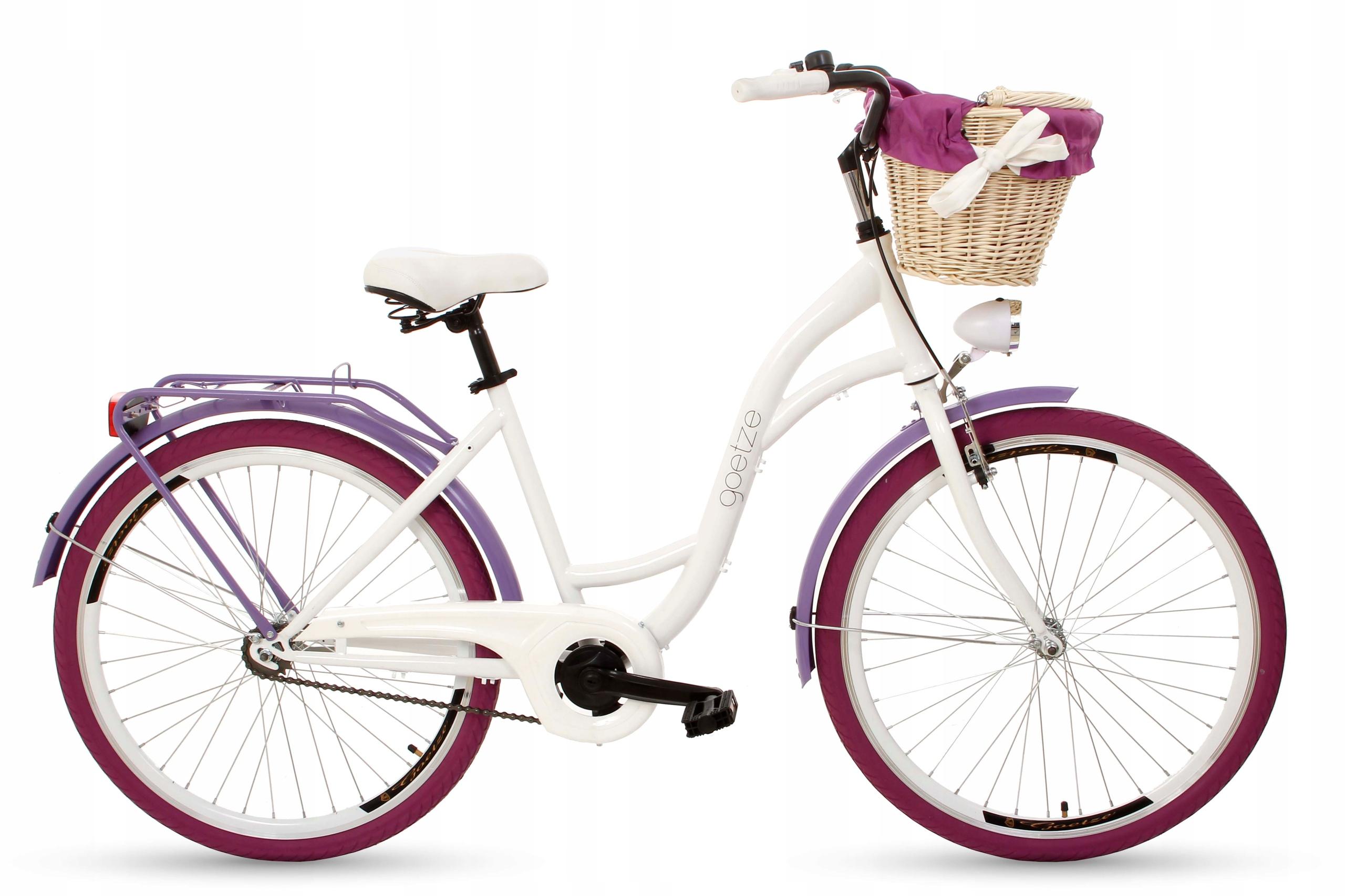 Dámsky mestský bicykel Goetze COLORS 26 košík!
