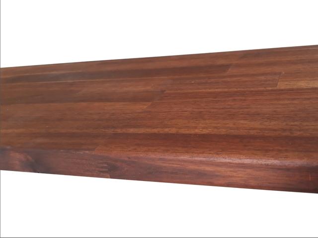Doska z tvrdého dreva agátu 295 x 63 cm x 2.6 cm