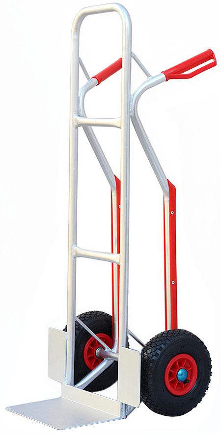 Wózek transportowy ALUMINIOWY magazynowy młynarka