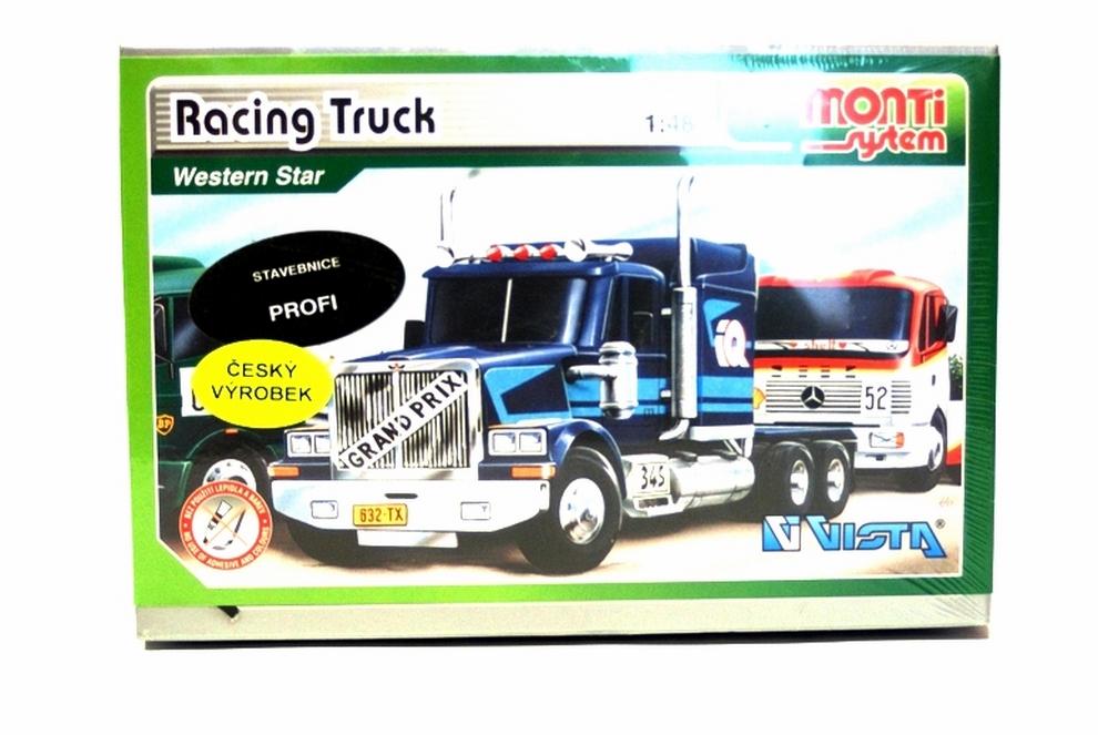 Racing Truck Western Star model 1:48