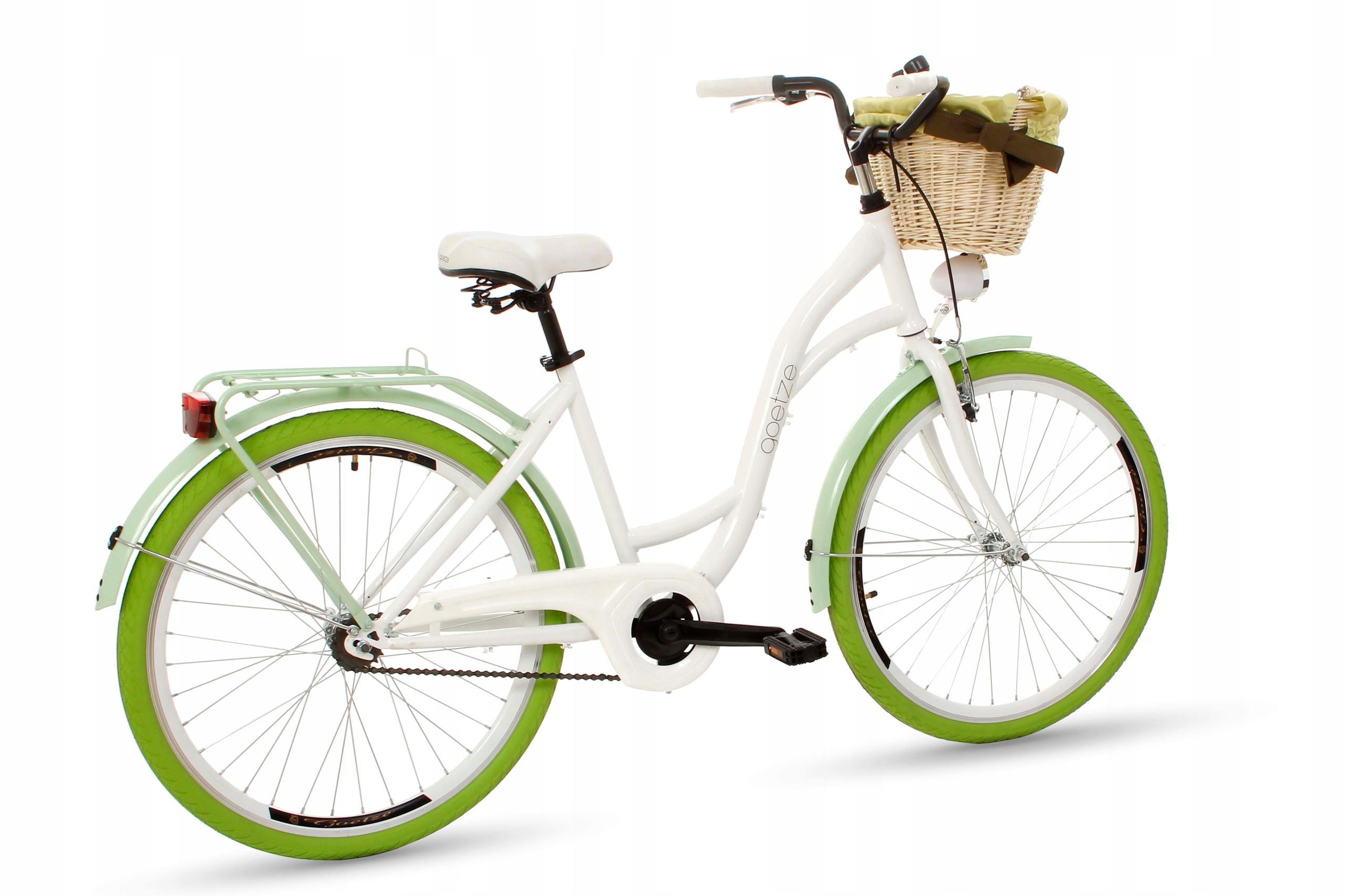 Dámsky mestský bicykel Goetze COLORS 26 košík!  Chýba typ prehadzovačky