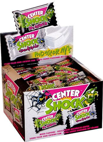 Резинки Chupa Chups Center Shock MONSTER! 10 штук резинка
