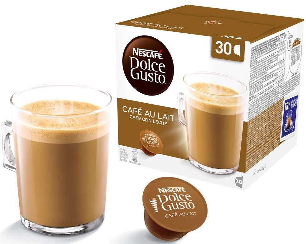 Кофе с молоком Nescafe Dolce Gusto Cafe Au Lait XXL