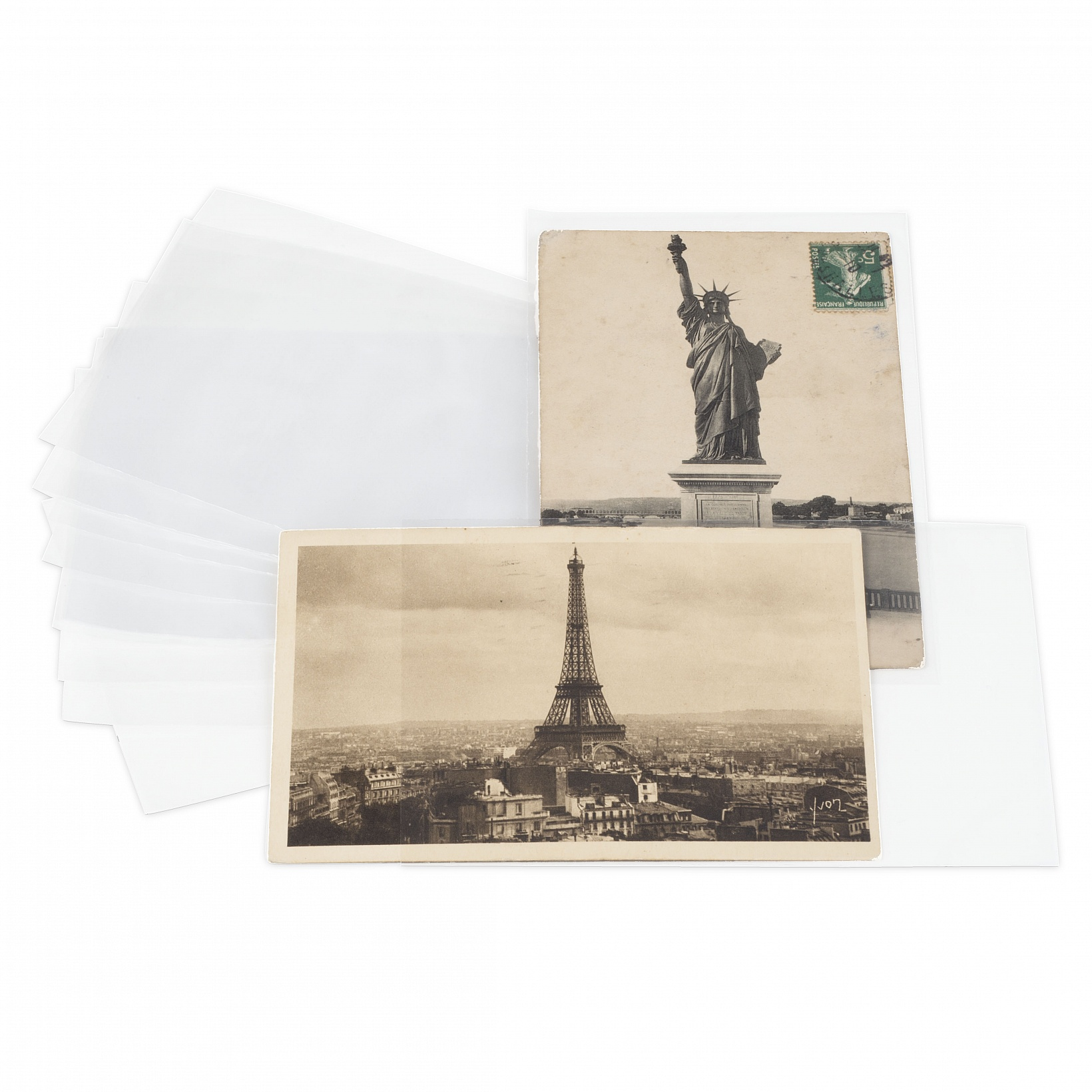 LEUCHTTURM пленка ЗАЩИТНЫЕ на открытки 170x120mm