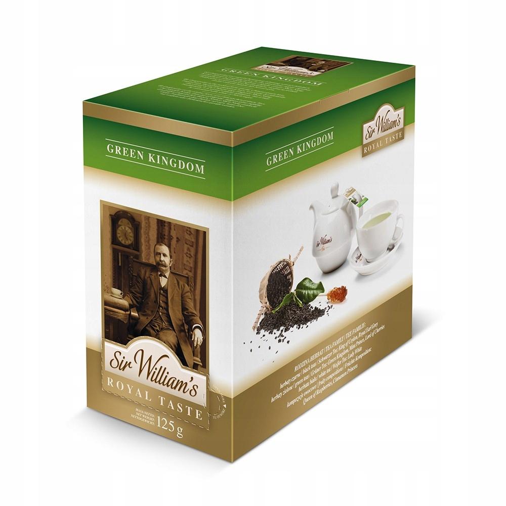 Čaj Pane Williams Royal Chuť Zelené Kráľovstvo 50