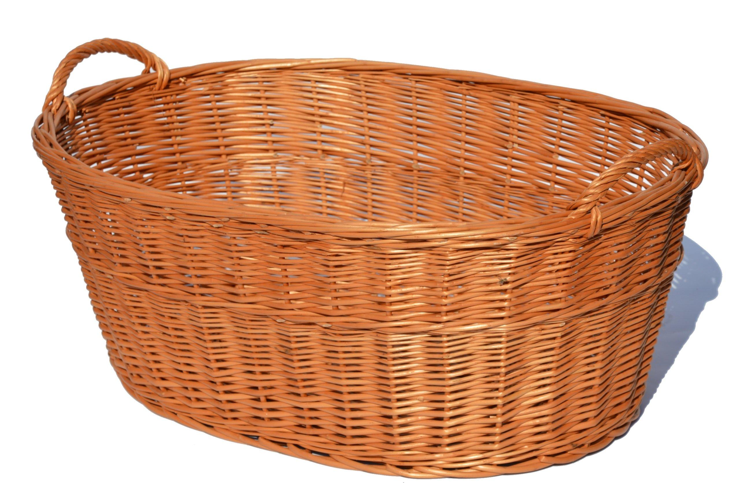 Magle Basket pre prútené bielizeň Letter 60cm silný