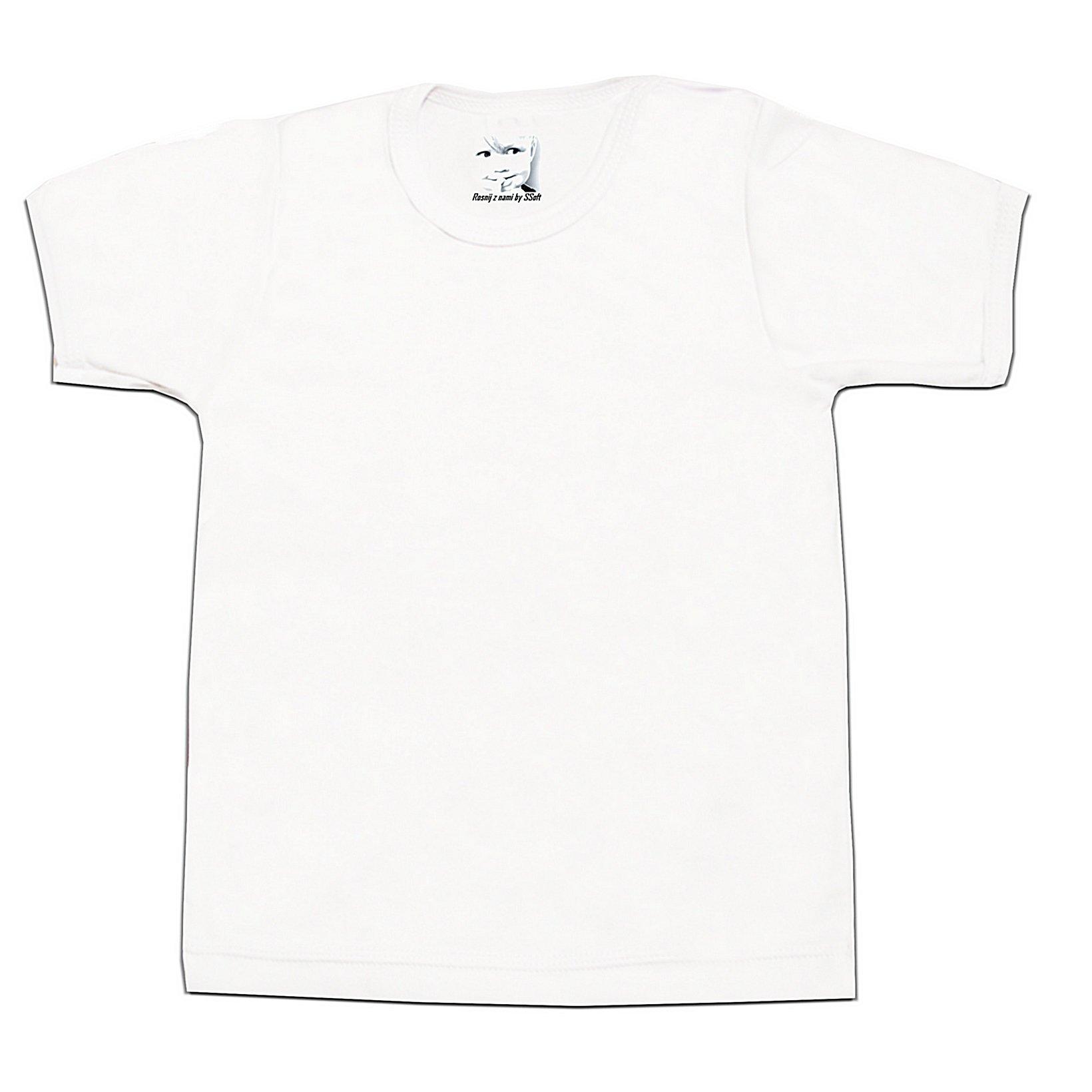 934f7aff0d636c Koszulka 86 krótki rękaw 100% bawełny bluzka BIAŁA 7162167668 - Allegro.pl