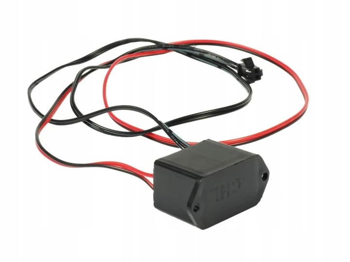 инвертор 12v преобразователь к Волоконно-оптического кабеля el wire