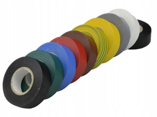 INSULATING TAPE COLOR MIX 15x10m 10шт