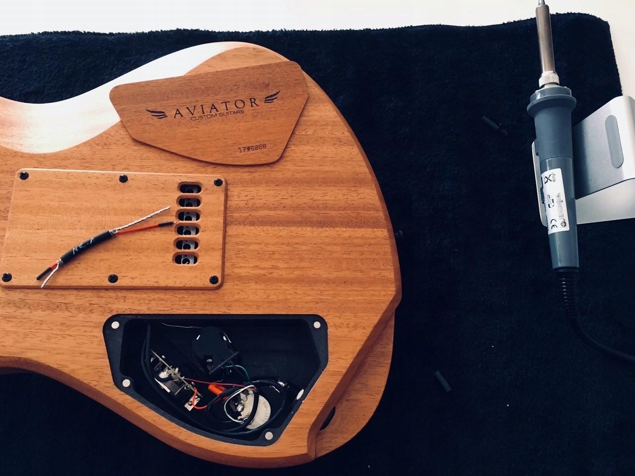 Tuning gitary s David Laboga Kábel č. 1-15 Gibson