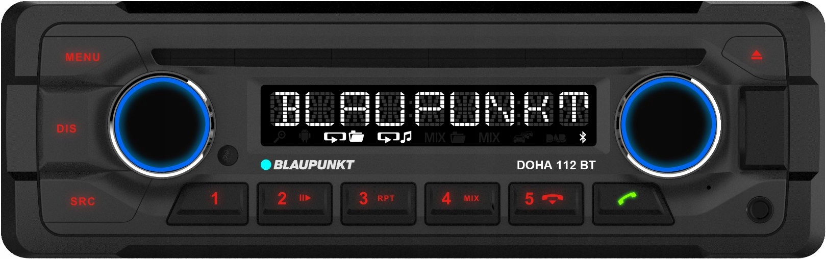Blaupunkt BT 112 Dauhe, rádio CD RETRO